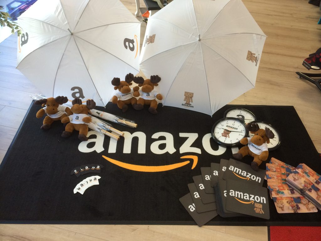 Werbematerial Regenschirm