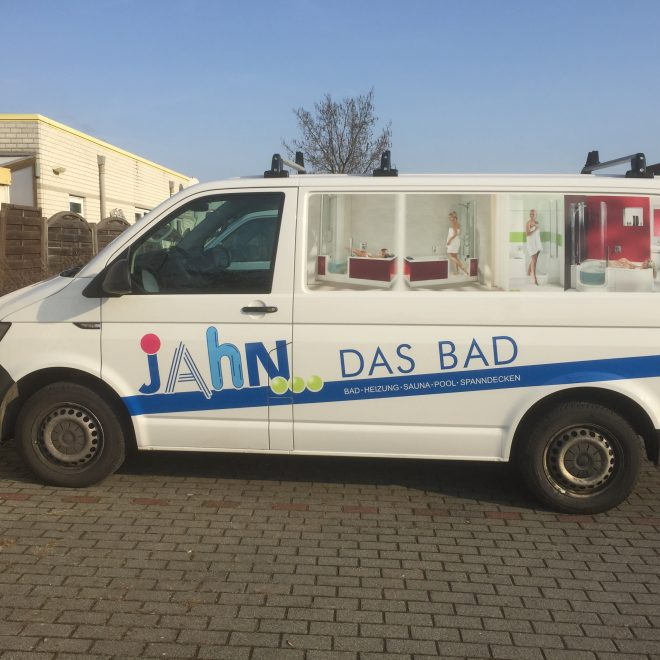 Transporter Fahrzeugbeklebung