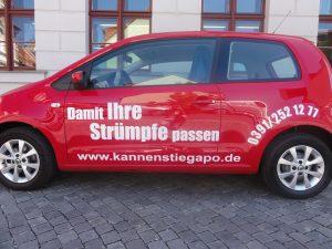 Fahrzeugbeklebung Auto